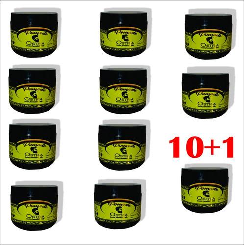Ostria Pomada Para Fijar Cabello 120 Gr Lote De 10+1