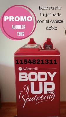 Body Up Pro Paleta Doble, Alquiler