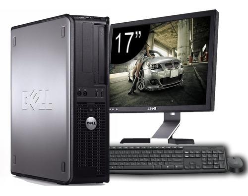 Cpu Dell Core 2 Duo + Monitor Dell 15 + Teclado + Mouse