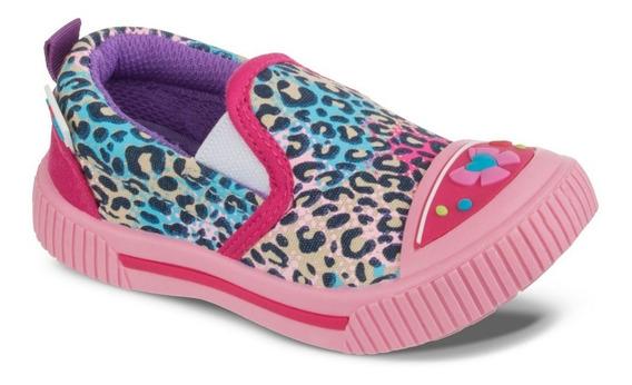 Zapato Los Gomosos Amery Rosado Multicolor Para Niña