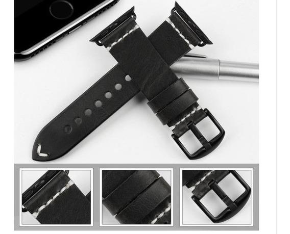 Apple Watch - Novas Pulseiras Em Couro - Vinho Escuro