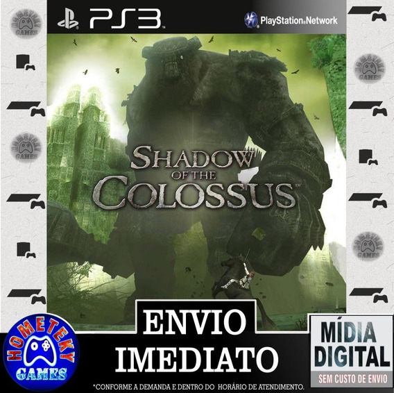 Shadow Of The Colossus - Psn Ps3 Play 3