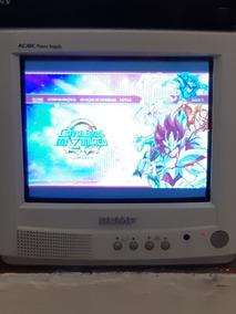 Tv Portátil Tela Plana 10 Polegadas Semp Ac Dc 1033 Controle
