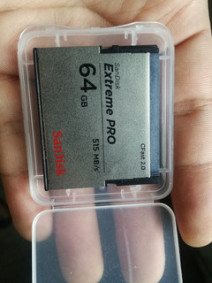 Sandisk Extreme Pro 64 Gbytes 515 Mb/s Cfast 2.0