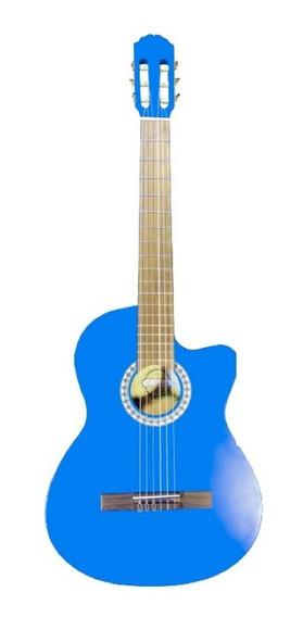 Guitarra Clasica Acustica Marca Valencia 4/4 N03 + Estuche