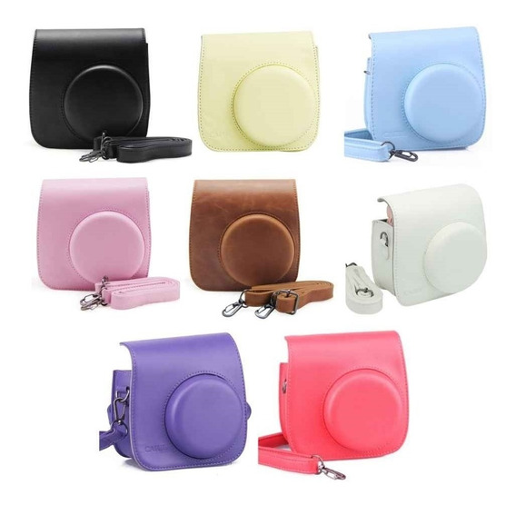 Case P/ Camera Instax Mini 8/9 Kit Com 10 Pçs + Varal Brinde