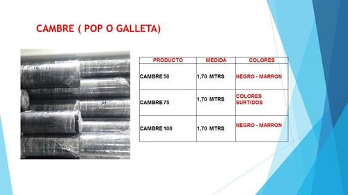 Cambre 100 Negro( Galleta , Pop ,..)