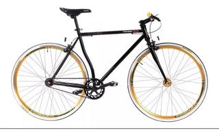 Bicicleta Top Mega Fixie Como Nueva + Linga
