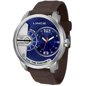 Relógio Lince Masculino Couro Mrph049s-d2mx