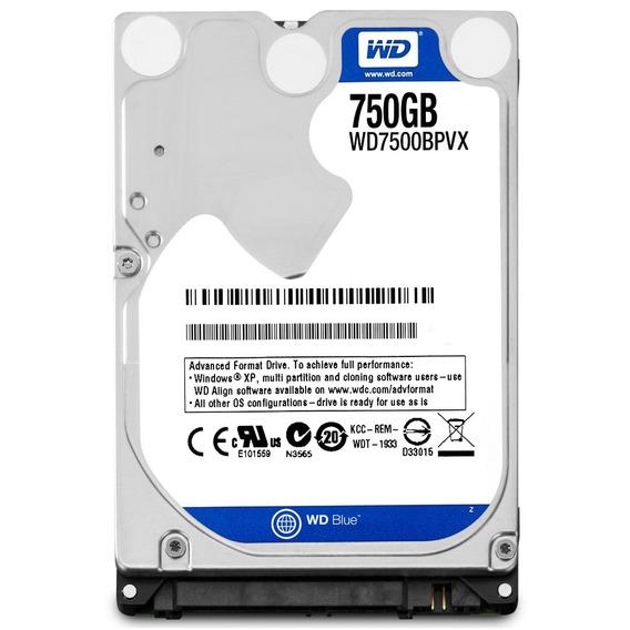 Hd 750gb Notebook Wester Digital Sata Oferta Ps3 Ps4
