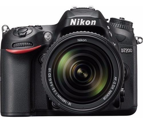 Câmera Nikon D7200 24.2 Mp Wi-fi Kit 18-140mm 12x S/juros