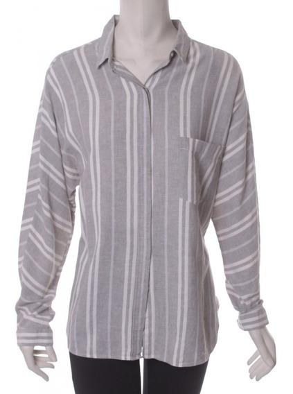 Camisa Gris Zara