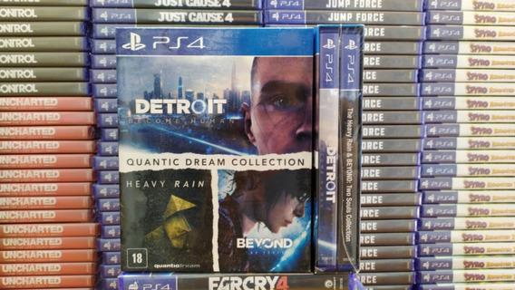 Detroit + Heavy Rain + Beyond Two Souls (3 Jogos) Ps4 Pt-br
