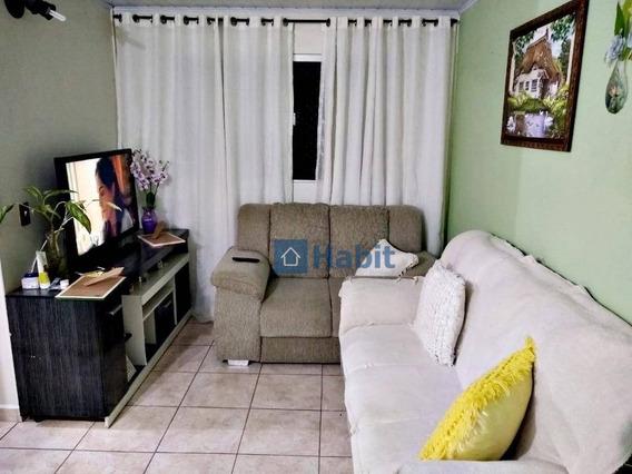 Apartamento Com 3 Dormitórios À Venda, 60 M² Por R$ 215.000,00 - Parque Pinheiros - Taboão Da Serra/sp - Ap0911