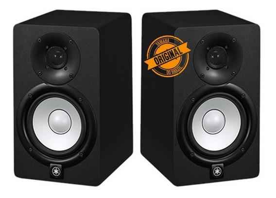 Monitor Ativo Yamaha Hs5 Preto 70w (par)