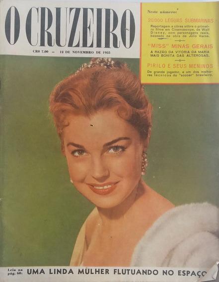 Revista O Cruzeiro 1955 Miss Minas Gerais Raras E Antiga