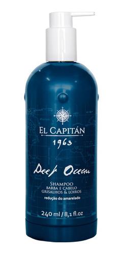 Shampoo Masc Desamar Deep Ocean 990ml El Capitán