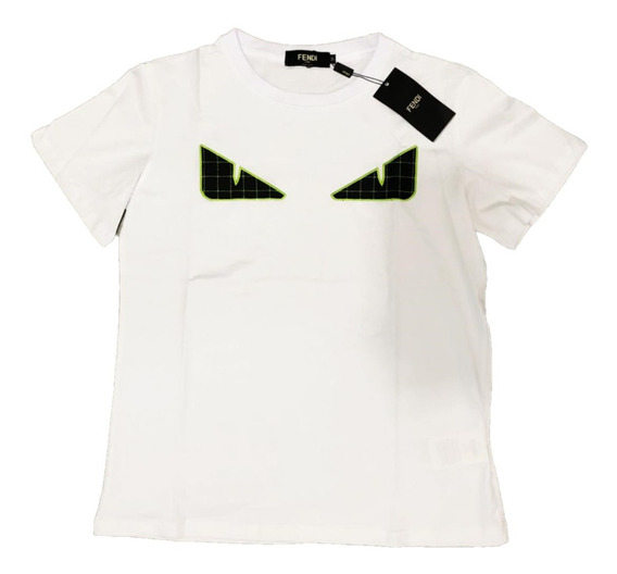 Playera Fendi Eyes White Envio Gratis