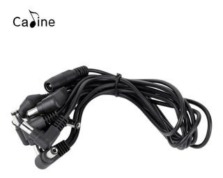 Daisy Chain 5 Pedales Adaptador Voodoo Caline Plug Pedal