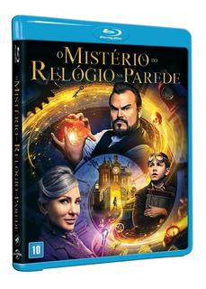 Blu-ray O Mistério Do Relógio Da Parede - Original & Lacrado