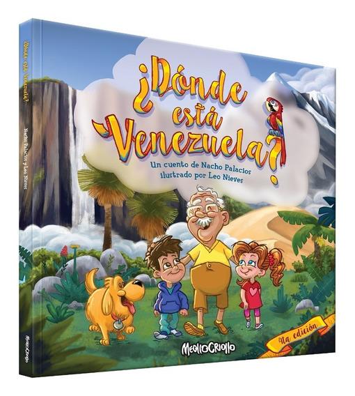 Libro Infantil ¿ Donde Esta Venezuela?