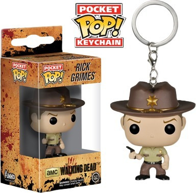 Llavero Funko Pop Rick Grimes- The Walking Dead