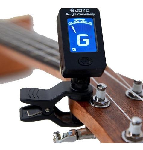 Imagen 1 de 6 de Afinador Digital Joyo Para Guitarra, Bajo, Ukelele, Violín