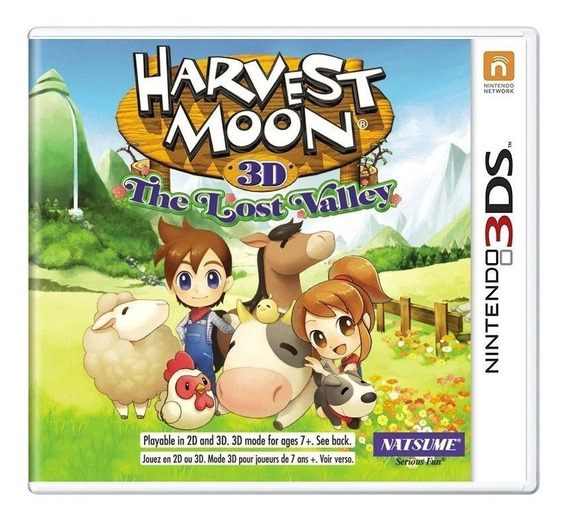 Harvest Moon The Lost Valley 3ds Mídia Física Pronta Entrega