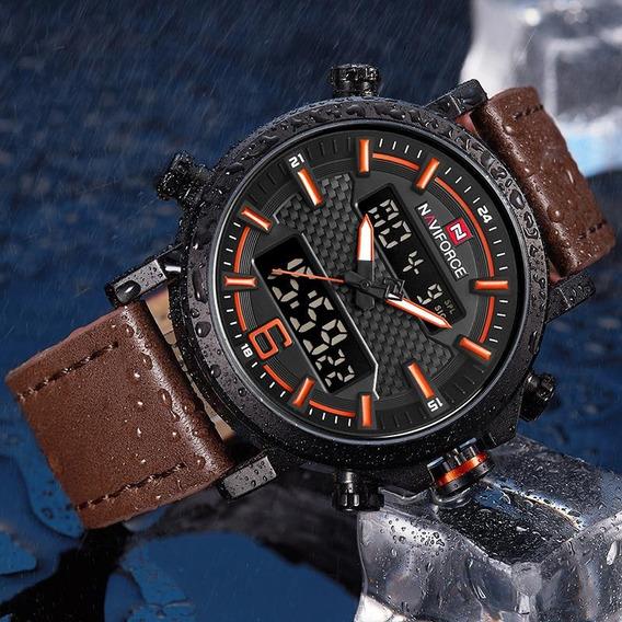 Relógio Masculino Naviforce Nf9135,original, Promoção!