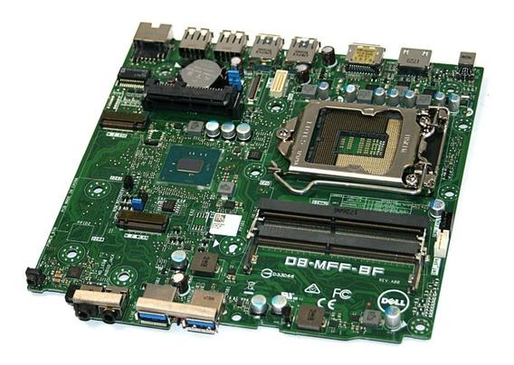 Placa Mãe Dell Optiplex 3050 Micro 1151 Ddr4 0jp3nx D8mff-bf