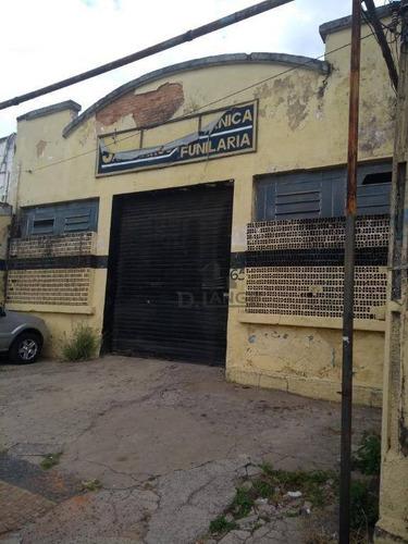 Barracão Para Alugar, 249 M² Por R$ 4.000,00/mês - Vila João Jorge - Campinas/sp - Ba1044