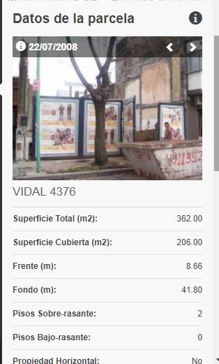 Venta De Terreno En La Calle Vidal