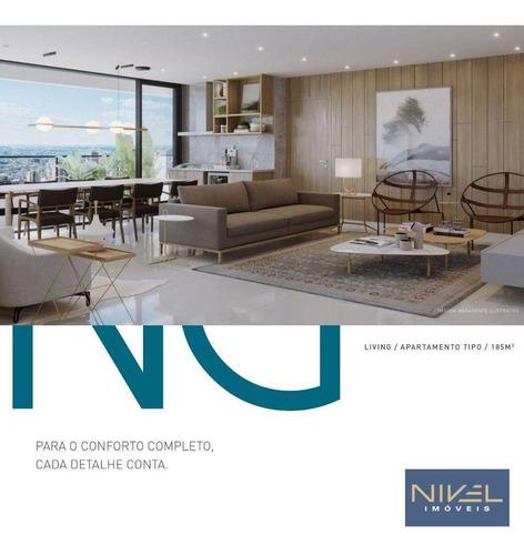 Imagem 1 de 27 de Lançamento Reserva Newest - 3 Dormitórios À Venda, 185 M² Por R$ 1.320.000 - Setor Oeste. - Ap0139