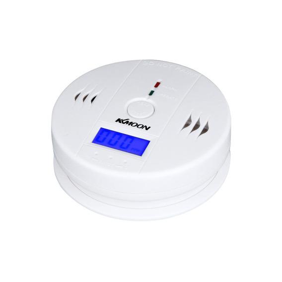 Sensor Monitor Alarme Detector Branco De Envenenamento De