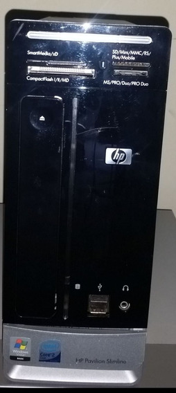 Computador Slim Hp S3620br Core 2 Duo 500gb 3gb Ram Dvd Som