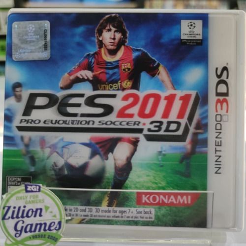 Pes 2011 3d Nintendo 3ds - Completo