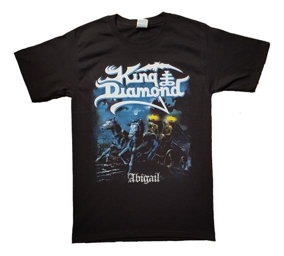 Playera, Camiseta King Diamond, Rock Metal