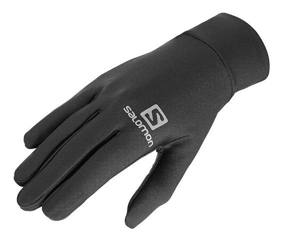 Guantes Salomon Agile Warm Glove Primera Piel Black