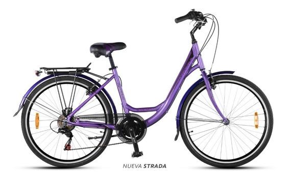 Bicicleta Paseo Dama Aurora Strada *ahora 12 Y 18*
