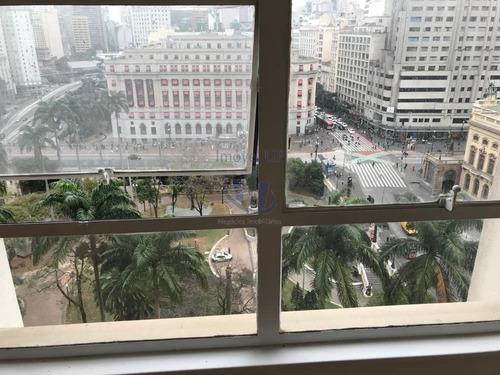 Imagem 1 de 15 de Conj.comercial C/ Vista Maravilhosa P/ O Teatro Municipal, C/ 60 M²,2 Banheiros - V-720