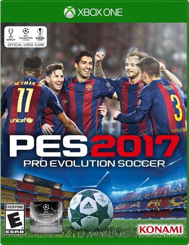 Pes 17 Xbox One Juego Cd Nuevo Original Físico Sellado Full