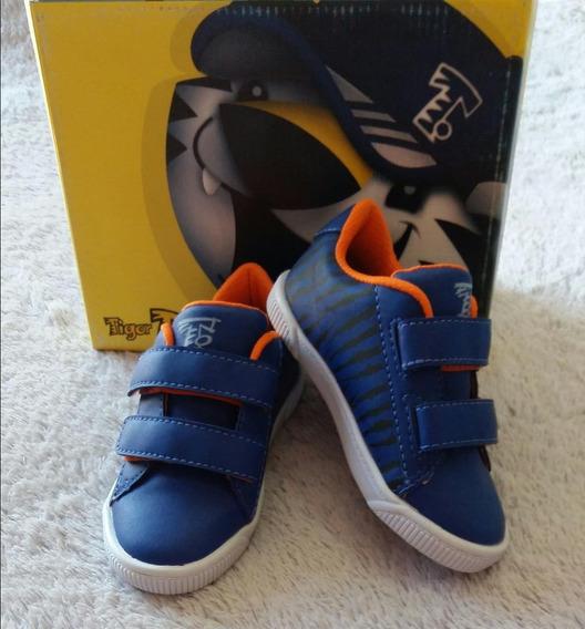 Tênis Tigor T. Tigre Menino Azul