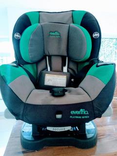 Butaca/silla Evenflo Bebe Para Auto Excelente Estado!!!