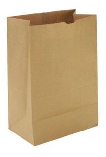 Bolsa Delivery Papel Kraf Fm7 26x12,5x37cm Ecologica X250u
