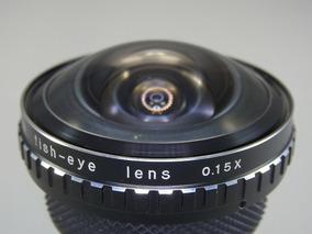 Ultimo Dia Fisheye Olho De Peixe 0.15x Canon Nikon 58mm §§§