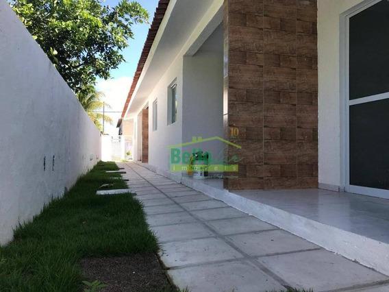 Casa Com 2 Dormitórios À Venda, 45 M² Por R$ 128.000 - Nossa Senhora Do Ó - Paulista/pe - Ca0524