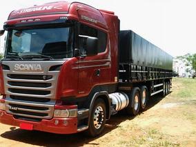 Scania Highline 440 6x2 Mais Carreta Ls