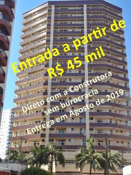 Apartamento Para Venda Em Praia Grande, Ocian, 3 Dormitórios, 3 Suítes, 1 Banheiro, 2 Vagas - Ap00015
