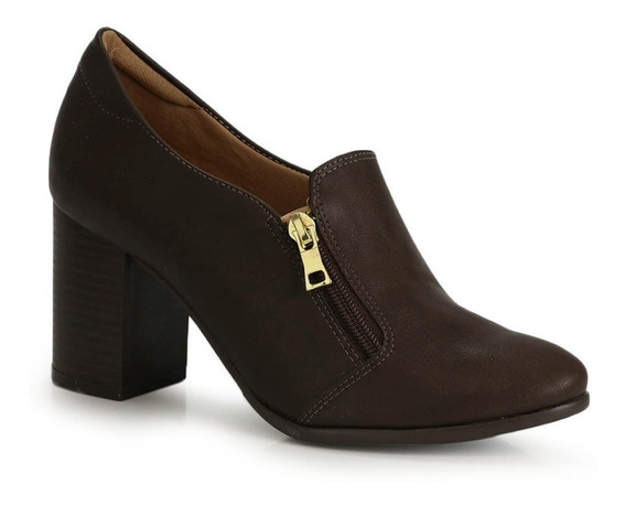 Sapato Salto Grosso Lara