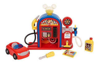 Gas Station Playset Estacion De Gasolina Auto C307 Mm